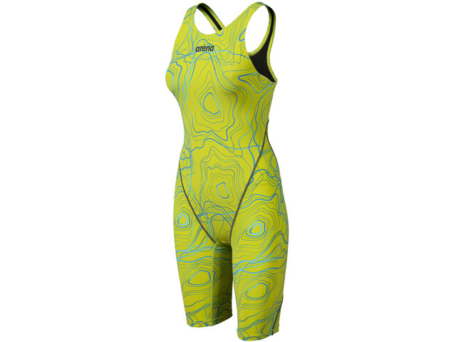 arena Powerskin ST 2.0 Costume intero da gara schiena aperta LTD Edition 2019 Donna, sonic lime
